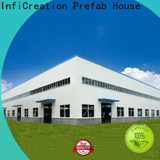modern pre manufactured warehouse customized for company