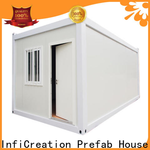 InfiCreation steel pre built container homes factory for toilet