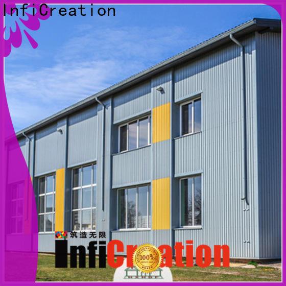 InfiCreation prefab steel warehouse design for factory