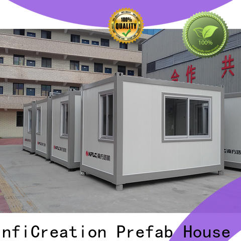InfiCreation durable custom container homes factory for booth