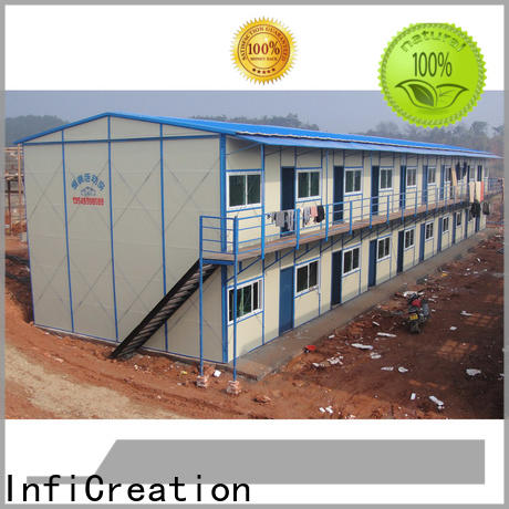 InfiCreation movable temporary site accommodation custom for shop
