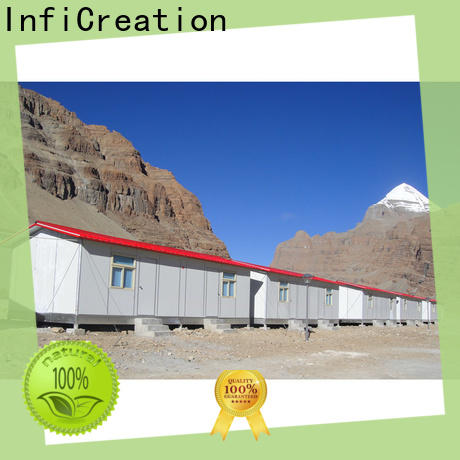 InfiCreation movable prefabricated k house manufacturer for accommodation