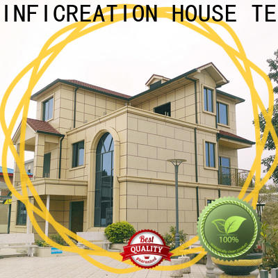 InfiCreation modular cottages designer for hotel