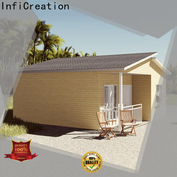 steel prefab manufactured homes custom for accommodation