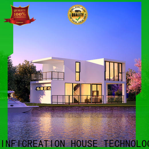 InfiCreation economical prefab modular homes designer for hotel