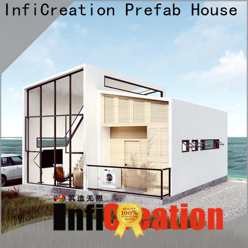 InfiCreation comfortable modular cottages manufacturer for hotel