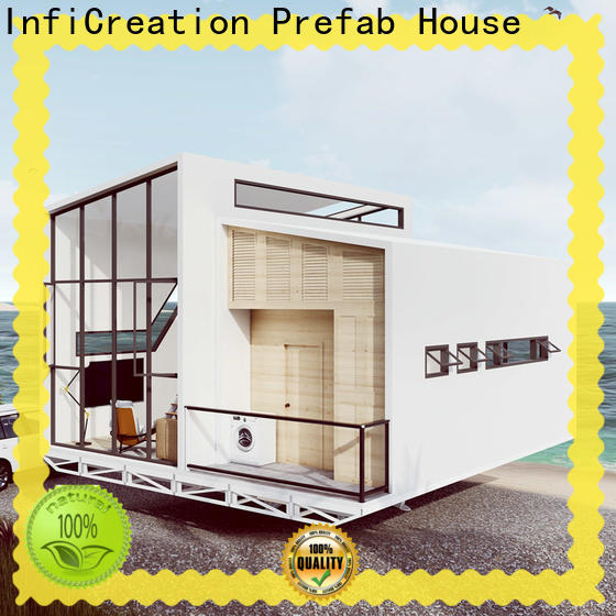 InfiCreation steel modular villas custom for entertainment centers