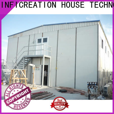 InfiCreation pre manufactured homes factory for booth