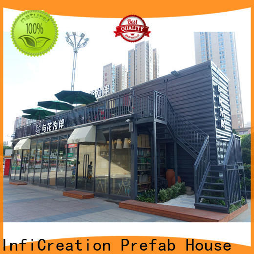 InfiCreation new pre manufactured homes suppliers for carport