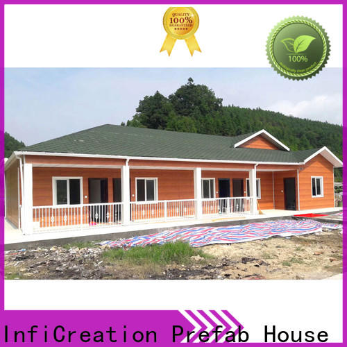 InfiCreation custom pre manufactured homes supply for office