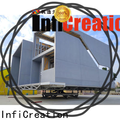 InfiCreation steel prefabricated villa custom for hotel