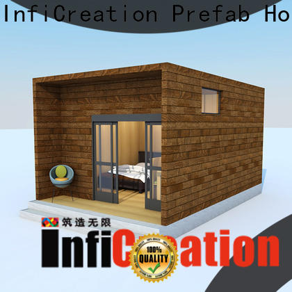 InfiCreation economical premade cottages designer for hotel
