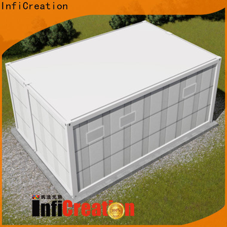 InfiCreation tiny cargo container house directly sale for booth
