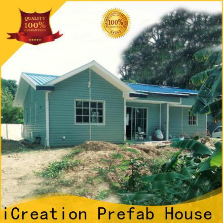 portable pre built houses designer for resorts