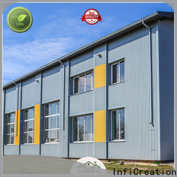 InfiCreation fast assembly prefabricated warehouse buildings factory price for company