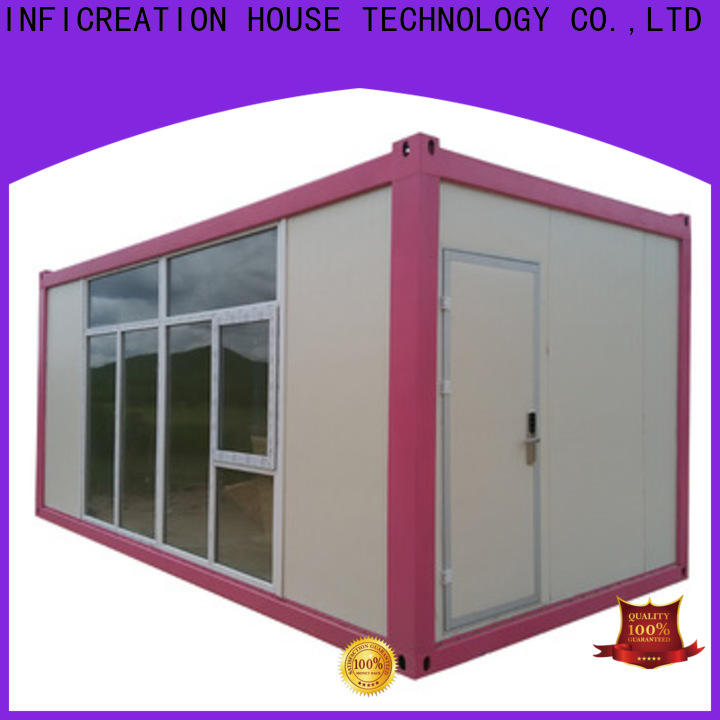 InfiCreation recyclable storage container houses factory price for booth