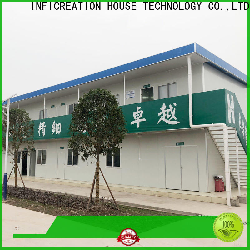 steel premade container homes manufacturer for booth