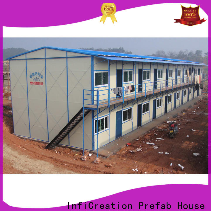 InfiCreation competitive price prefabricated k house manufacturer for office