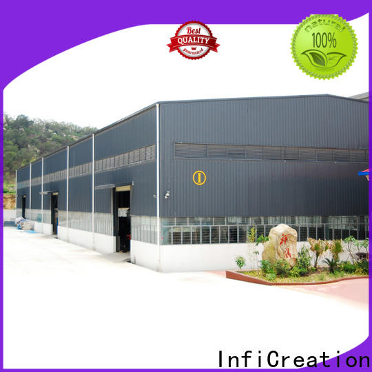 environmental friendly prefabricated warehouse supplier for factory