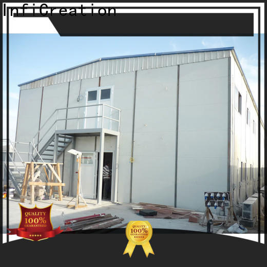 InfiCreation latest pre manufactured homes suppliers for booth