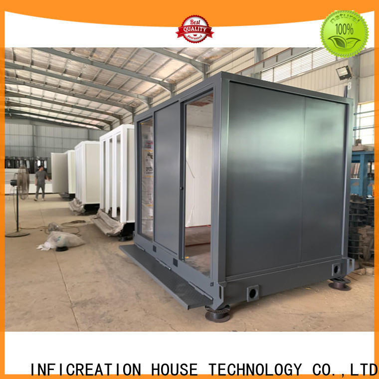InfiCreation modern prefab container house customized for toilet