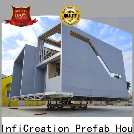 InfiCreation comfortable prefabricated cottages custom for hotel