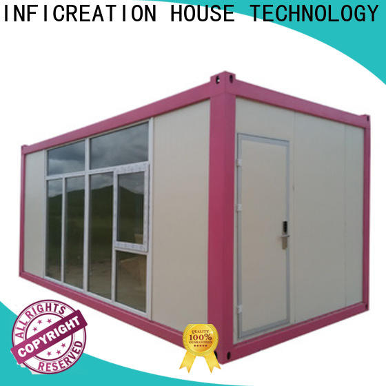 InfiCreation durable prefabricated container homes directly sale for office