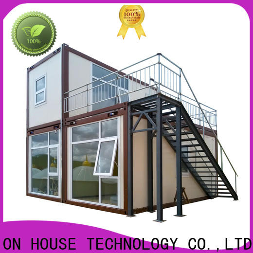 durable prefab container house manufacturer for toilet