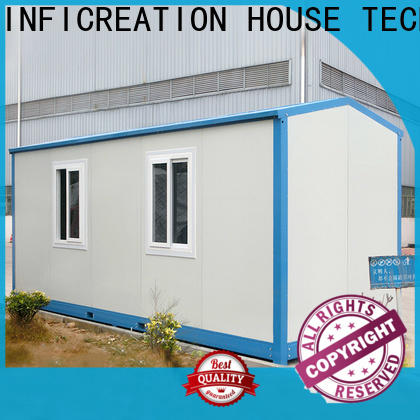 low cost prefab container house customized for accommodation