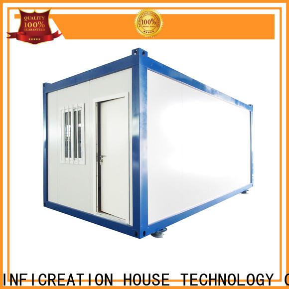 InfiCreation steel prefab container house supplier for booth
