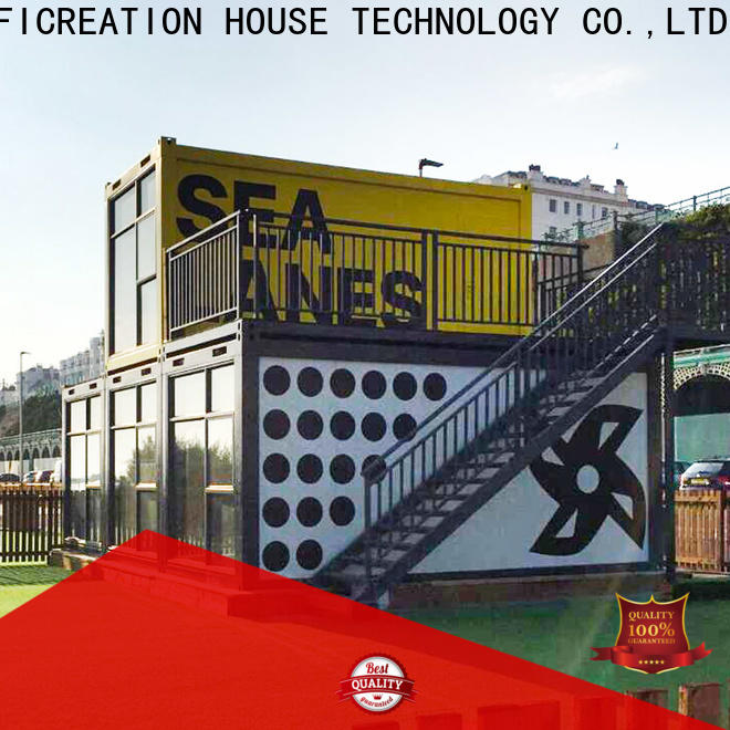 InfiCreation custom container homes manufacturer for booth