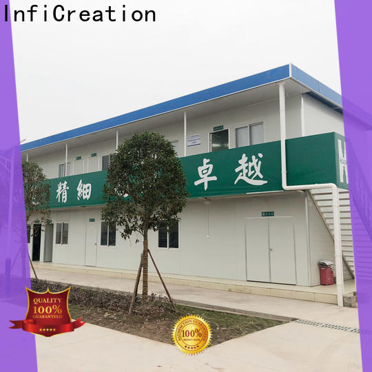 InfiCreation modern prefab container homes directly sale for booth