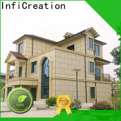 InfiCreation portable premade cottages designer for entertainment centers