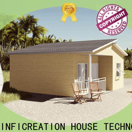 economical pre manufactured homes factory price for resorts