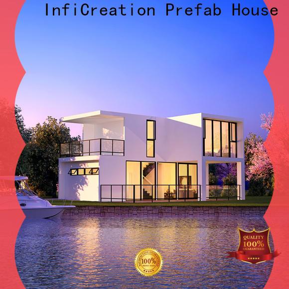 portable luxury prefabricated homes designer for hotel