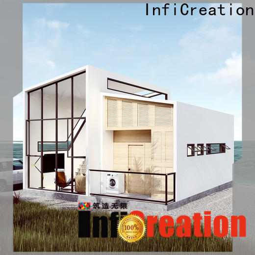 comfortable pre manufactured homes factory price for accommodation