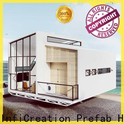 InfiCreation steel prefabricated luxury villas designer for accommodation