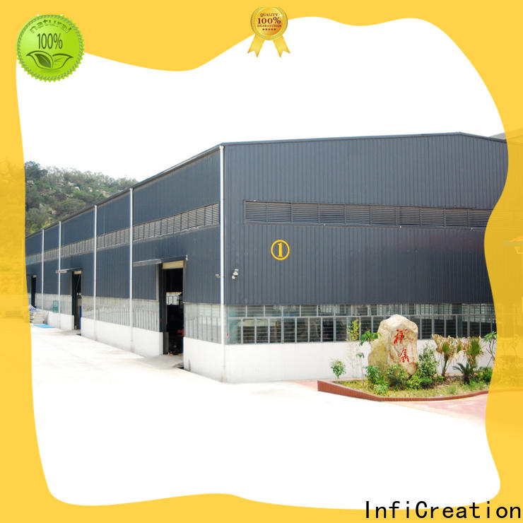 InfiCreation prefab warehouse supplier for company