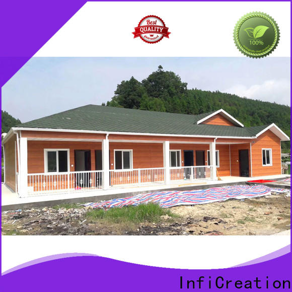 InfiCreation best pre manufactured homes supply for toilet