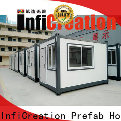 recyclable prefab container homes customized for toilet