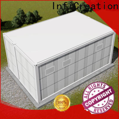 InfiCreation custom container homes factory for accommodation