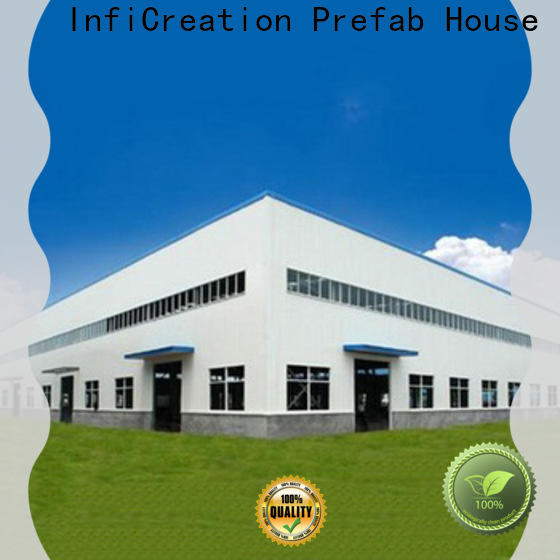 durable prefabricated steel warehouse design for company