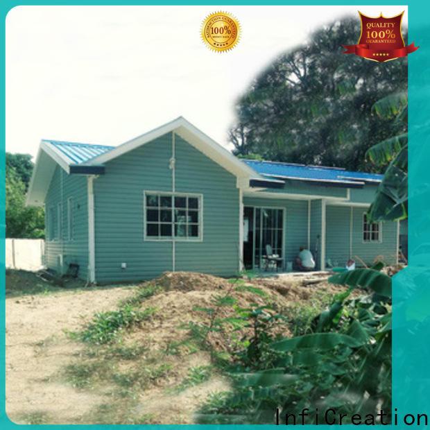 InfiCreation prefabricated villa custom for accommodation
