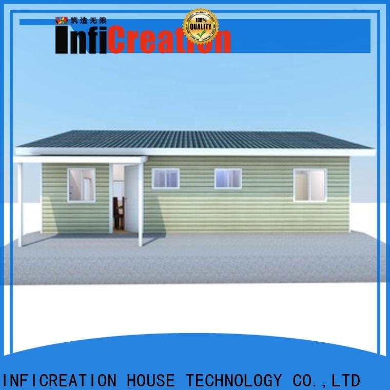 InfiCreation comfortable modular cottages custom for accommodation
