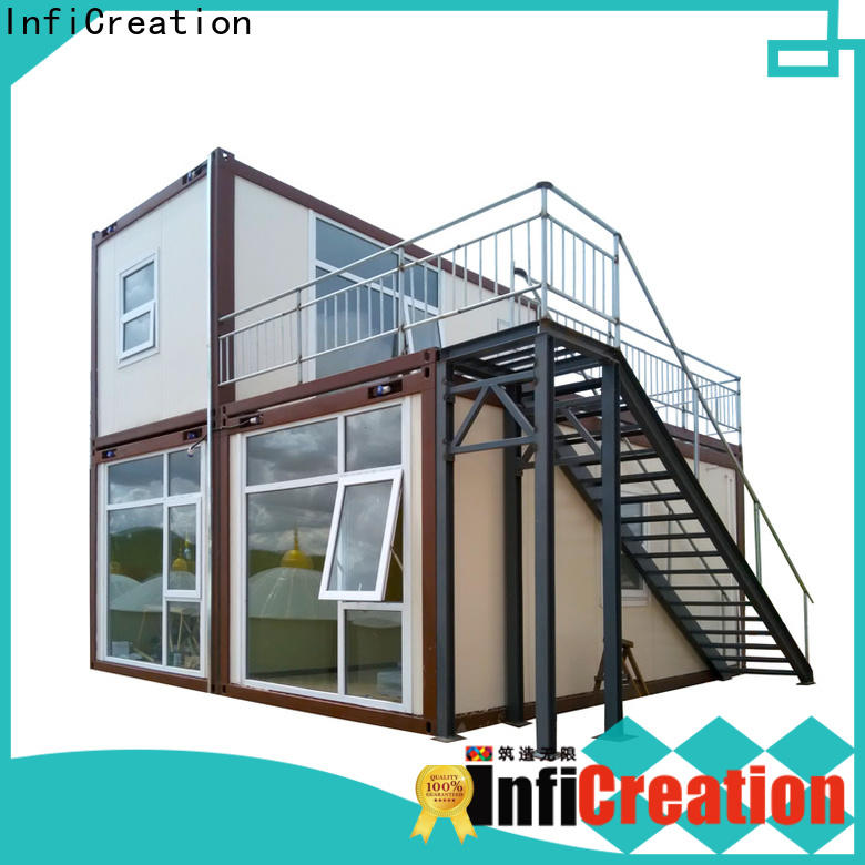 InfiCreation recyclable prefabricated container homes customized for office