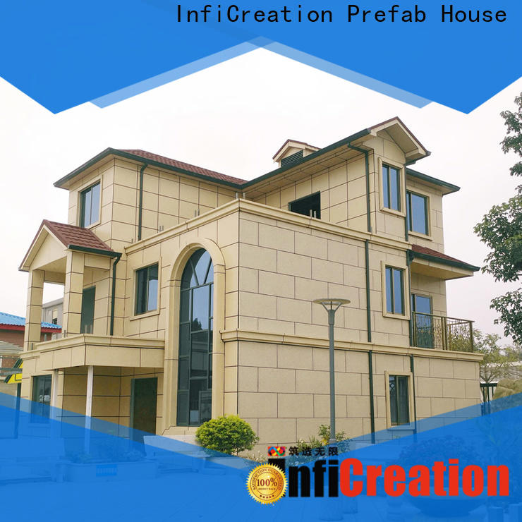 InfiCreation prefabricated cottages factory price for accommodation