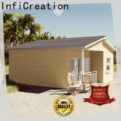 InfiCreation comfortable prefab cottage homes designer for hotel