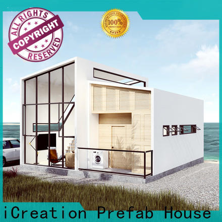 steel modular villas manufacturer for resorts