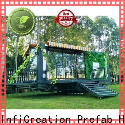 tiny prefab container house factory for booth