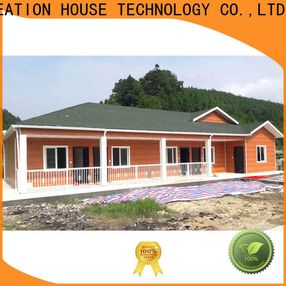 InfiCreation new pre manufactured homes manufacturers for accommodation